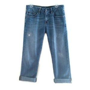 Adriano Goldschmied Ex Boyfriend Cropped Jeans 27R